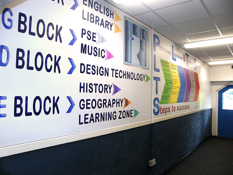 Map and PLTS Wall Graphic