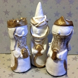 Handsculpted Three Kings