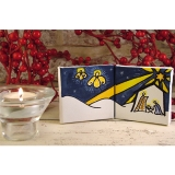 Mini Double Canvas Nativity