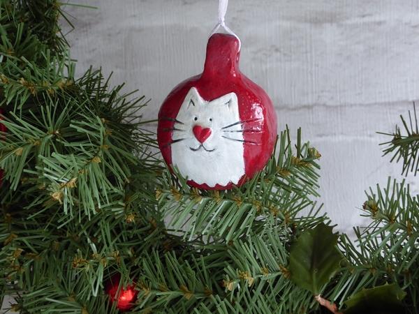 Cat Bauble 2016