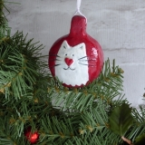 Cat Bauble 2016