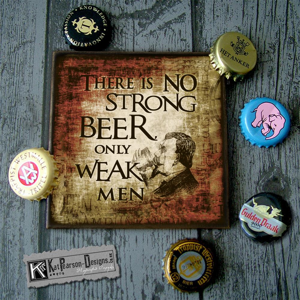 Mock Up - Single with bottle - WEAK MEN