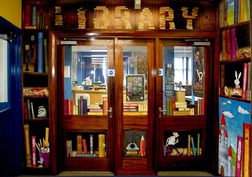 English Designs: Library Entrance