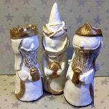 Handsculpted Three Kings